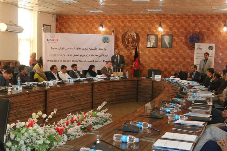 Afghanistan Ministry of Public Health Launches First Data Warehouse for the Health Sector with help from USAID