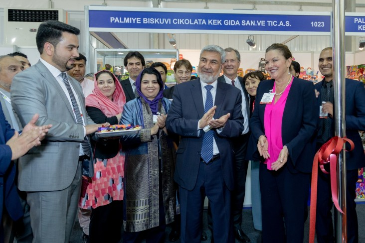Afghan exporters showcase high-end food at Gulfood Expo
