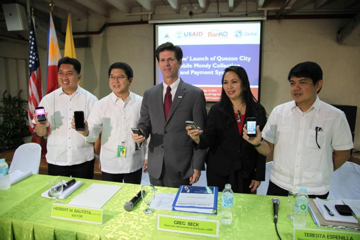 """Go-Live Launch"" of Quezon City with DAA Greg Beck"