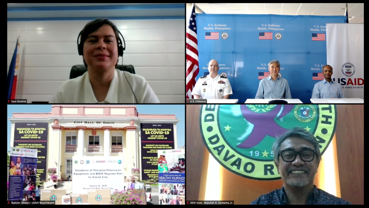 U.S. Government Assistance to Boost Davao City's Campaign Against COVID-19