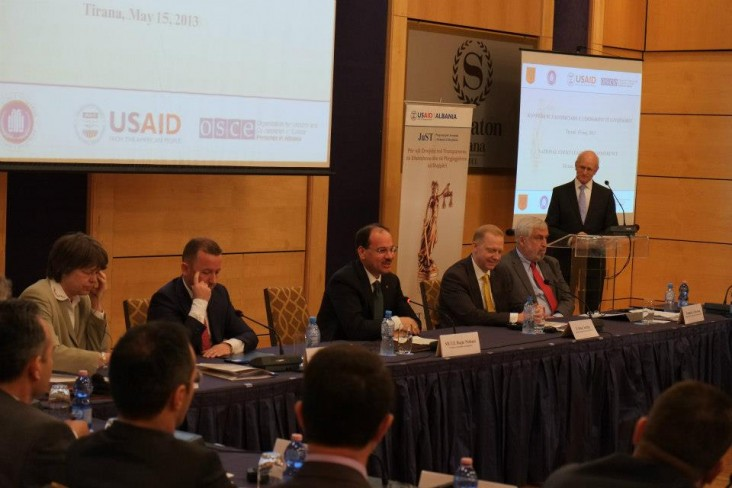 USAID Convenes National Court Leadership Conference in Tirana