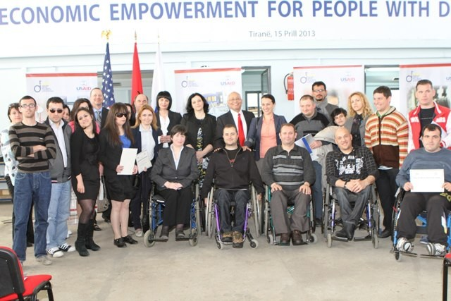 USAID Supports Job Training Program for People with Disabilities in Albania
