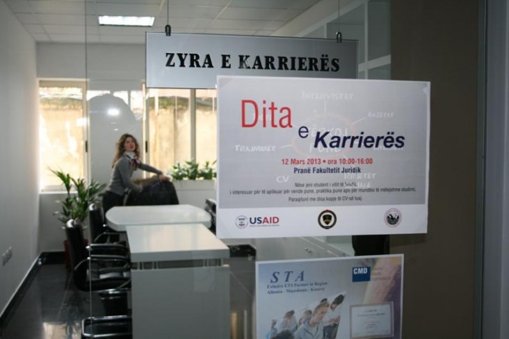 "USAID Supports ""Career Day"" for Tirana University Law Students"