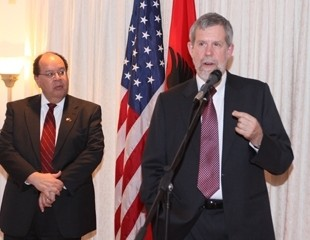 Albania, USAID, Mission Director, Joe Williams, Withers, development