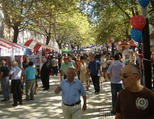 Tirana Street Fair Celebrates 20 Years of Renewed Friendship between the People of the United States and Albania