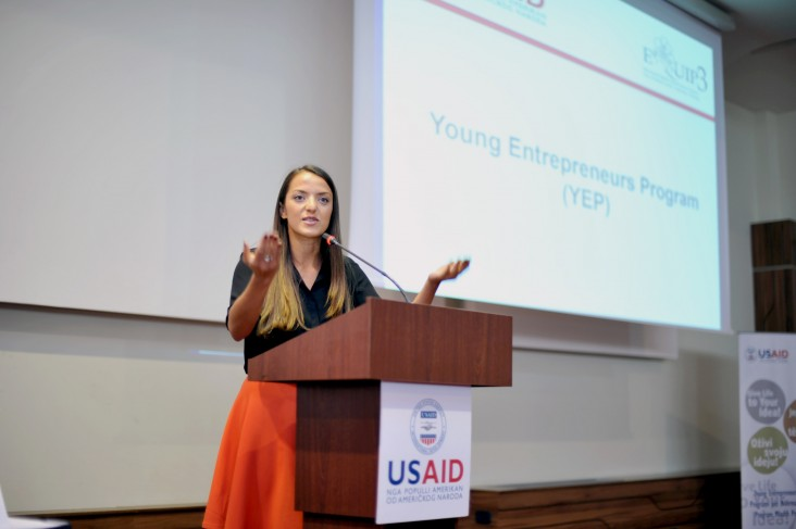 Grantee speaks about her success as a result of USAID's assistance