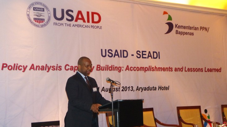 USAID/Indonesia Acting Mission Director gives remarks