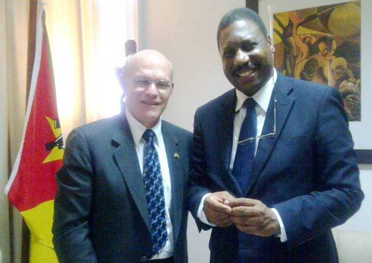 USAID Mozambique, Admiral Tim Ziemer, Minister of Health of Mozambique, Dr. Alexandre Manguele, PMI