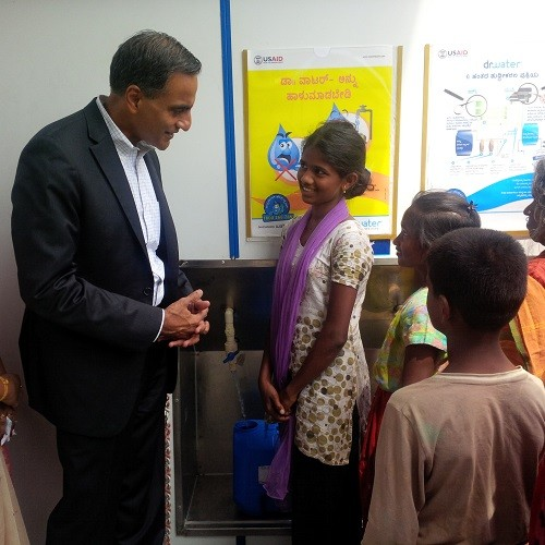 U.S. Ambassador to India Richard R. Verma visits State-of-the-Art WaterHealth Center