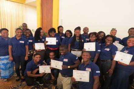 USAID PROGRAM REAPING HUGE DIVIDENDS FOR GUYANESE YOUTH