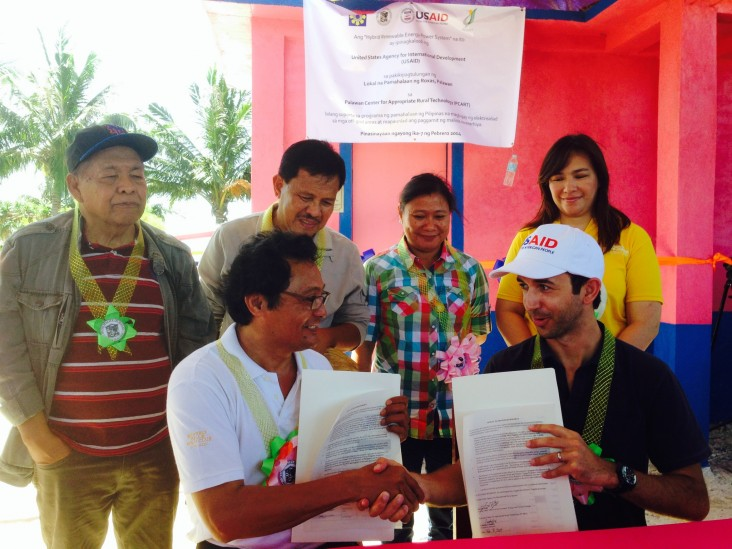 Palawan Inaugurates First Hybrid Renewable Energy Power System