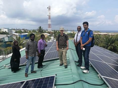 USAID Completes Construction of a Water System that Provides Safe Water to Island Residents on Hinnavaru
