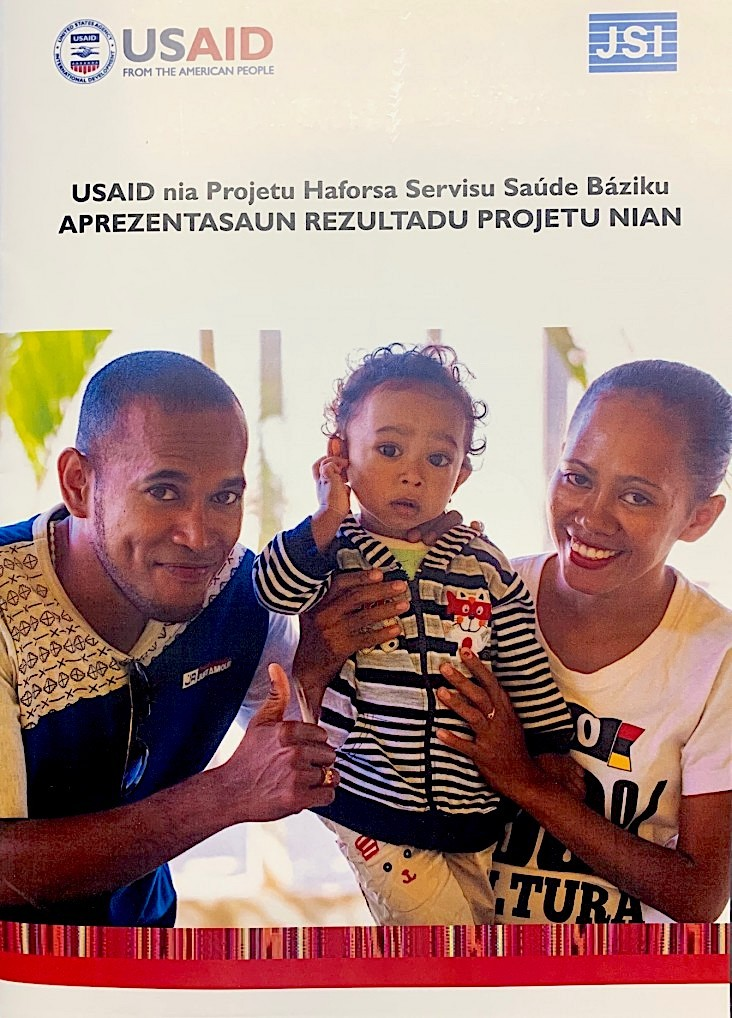 Results of USAID's Reinforce Basic Health Services project (USAID's Reinforce).