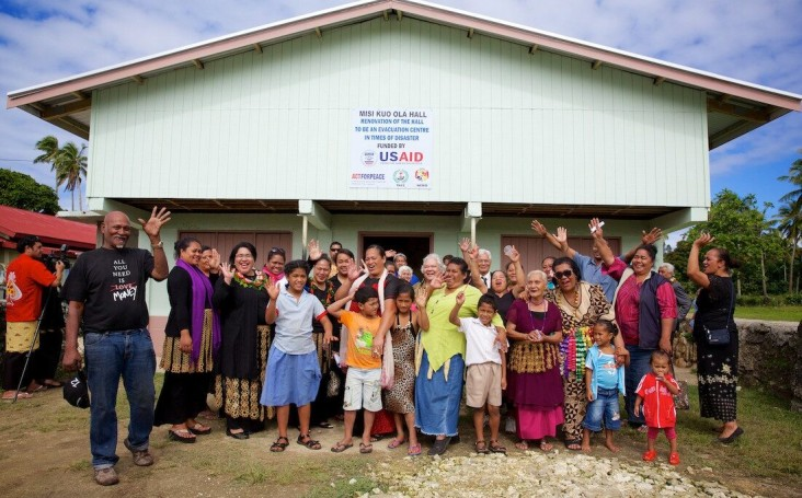 U.S. Government Launches New Disaster Risk Reduction Project in Tonga
