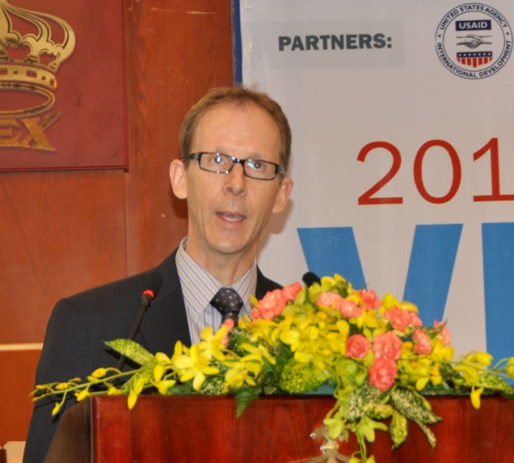 USAID Mission Director Joakim Parker Speaks at the 2nd Vietnam Engineering Education Conference
