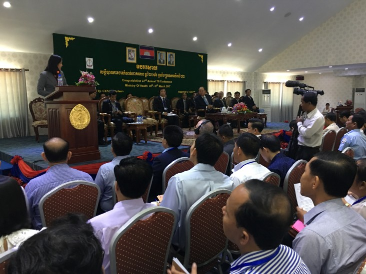 Remarks by Tina Lau, USAID Cambodia, Opening Ceremony of the Annual National Tuberculosis Conference
