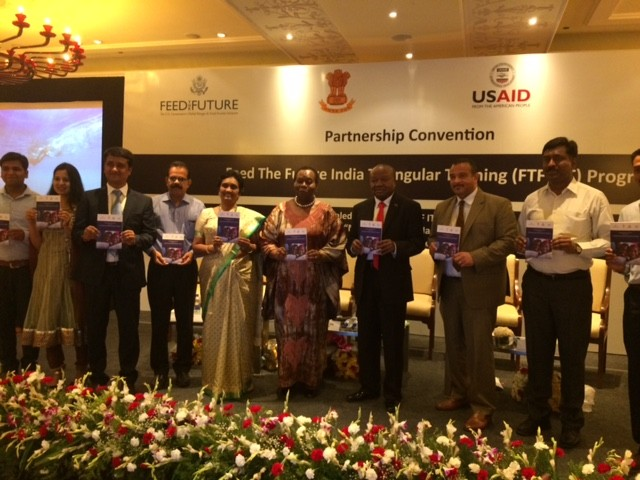 USAID Mission Director releases a book compilation of cases of trainees implementing their training knowledge in their respective countries.