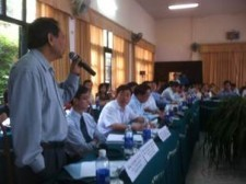 USAID/STAR Plus Workshop in support of national assemblies understanding of the Trans-Pacific partnership negotiations.
