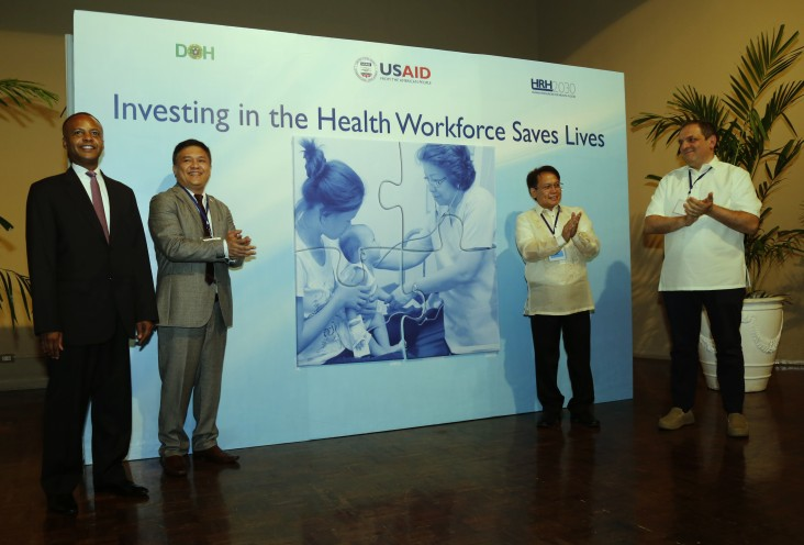 Launch of the Human Resources for Health (HRH)2030/Philippines
