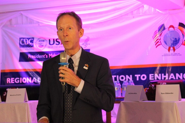 Remarks by Joakim Parker Mission Director USAID Uganda at