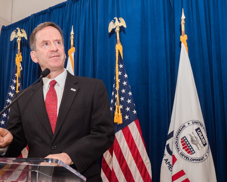 USAID Administrator Mark Green Delivers Welcome Remarks to Employees