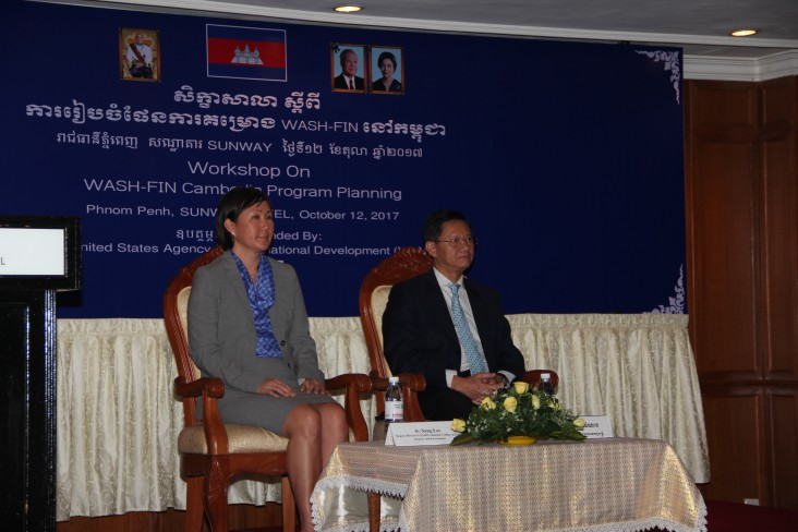 Remarks by Dr. Sang Lee, Food Security & Environment Team, USAID Cambodia, WASH-FIN/Cambodia Program Planning Workshop