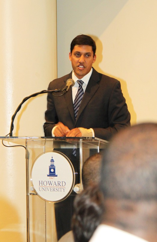 Administrator Shah at Howard University