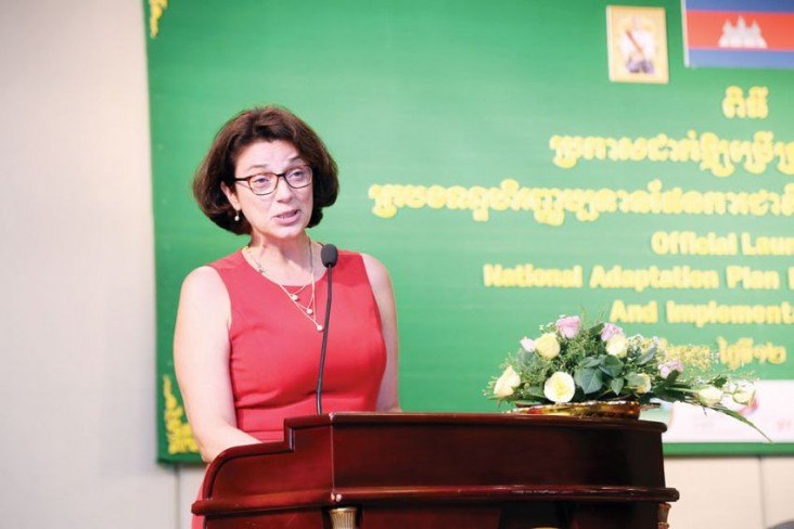 Remarks by Sandra Stajka, Director, Office of Food Security and Environment, USAID Cambodia, Launch Event of National Adaptation Plan Financing  Framework and Implementation Plan
