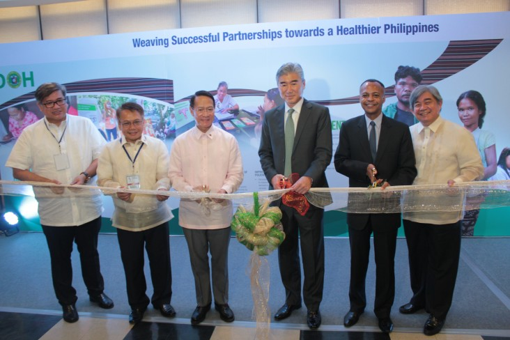 LuzonHealth, VisayasHealth, and MindanaoHealth Projects	Completion Ceremony