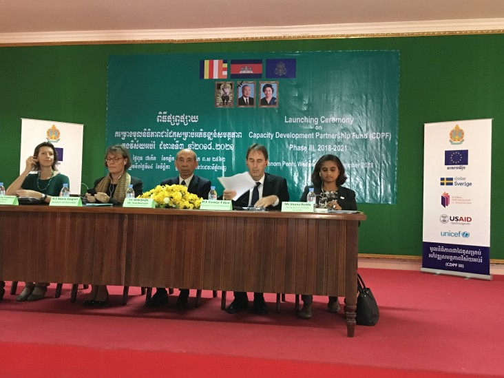Remarks by Veena Reddy, Acting Mission Director, USAID Cambodia, Launch for Capacity Building Partnership Fund, Phase III
