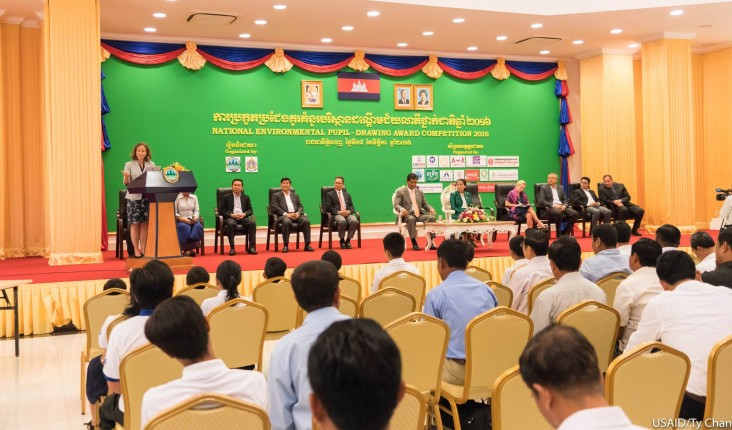 Remarks by Polly Dunford, Mission Director, USAID Cambodia, at the National Environmental Pupil-Drawing Award Competition