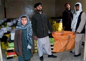 USAID and the Provincial Reconstruction Team provided warm clothing, food, and heaters to victims of a rocket attack in Kapisa.