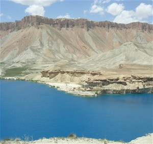 Breathtaking views such as this one await Afghan and international tourists who visit Band-e-Amir National Park in Bamyan provin