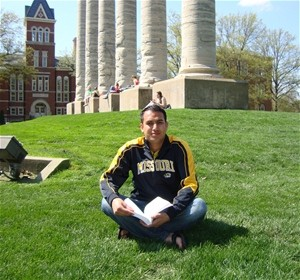 Abdullah Jan and his wife Shabnam (not pictured) are Fulbright students at the University of Missouri. After graduation, the cou