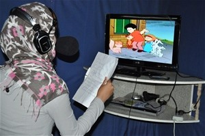 "Van Services Organization trained 15 young women in professional media ""dubbing"" skills through a USAID grant."