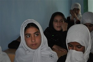 The only English and computer training center for women and girls in Kunduz City had to expand the number of classes to accommod