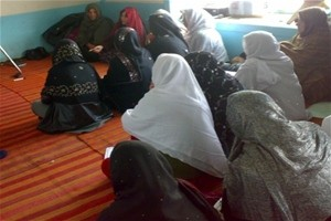 Peace building training in Ghazni Province.