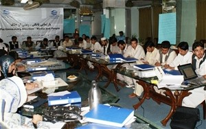 Journalists who attended the Kandahar trainings work for independent local media, nationally networked TV and radio stations, an