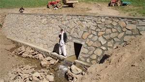 The storage dam has largely contributed to the empowerment of agriculture in Sar Boghandi Village