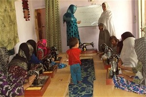 The training enables women in Kunduz to connect with government services.