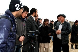 The director of Jawzjan's gas facility talks to local journalists about Afghanistan's effort to build a thriving natural gas ind