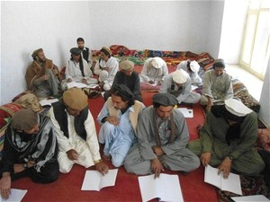Shakin's youth attend a two-day jirga