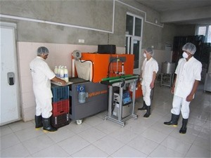 Modern processing machinery has enabled the company to improve food safety, hygiene and the quantity and quality of its products