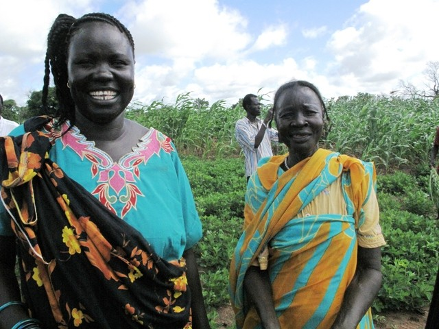 USAID support for the World Food Program's Food for Assets initiative is helping farmers in South Sudan improve food security.