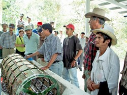Members of the El Gorrión coffee cooperative in Yalí, Nicaragua.