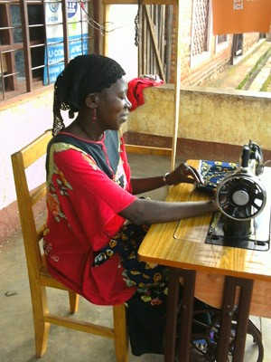 USAID Burundi helps women living with HIV and AIDS become more self reliant by developing skills