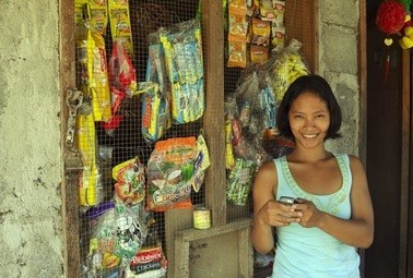 Bridging the gap with mobile phones: Rural moms save with mobile money