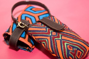 All Kuna Art products incorporate indigenous fabric designs