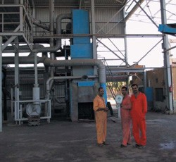 Upgraded lead smelter using cleaner technology and located in a dedicated and remote industrial zone.