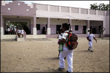 Students of the Khadijah School are now enjoying their newly renovated school